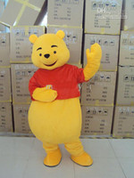 Wholesale pooh Plush Cartoon Character Costume mascot Custom Products customized