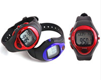 Wholesale PULSE HEART RATE MONITOR CALORIE COUNTER SPORTS WATCH Best Exercise Fitness Pulse Heart Rate Monitor