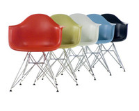 Wholesale Eames DAR Chair Modern Leisure Chair stools Armchair Dining Chair Office Chair