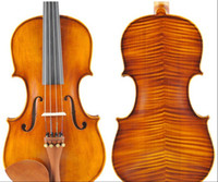 Wholesale hight quality hand crafted violin with case Rosin bow