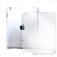 Wholesale New for ipad protective film the fingerprint scrub back film
