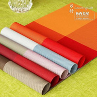 Wholesale Fish smile pvc placemat heat insulation pad table napkin dining table mat coasters