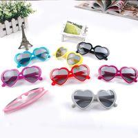 Plastic Beach Butterfly 20PCS beach sunglasses Heart-shaped sunglasses womens sun glasses mens sunglasses Heart glasses