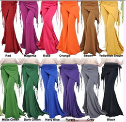 Wholesale Belly Dance Costume Tribal Cotton Yoga Pants colours