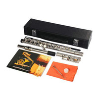 Wholesale New Silver Plated C Closed Hole Concert Band Flute