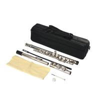 Wholesale Mid range Silver Plated C Closed Hole Concert Band Flute