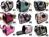 Wholesale High Quality Pet Bag Dog Carriers amp Totes Cat Carrying Case With Rolling Blind Designs For Choose