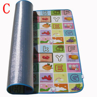 Wholesale New Play Mat Baby Educational Crawl Pad Play Learning Safety Mats Kids Climb Blanket x1 m Game