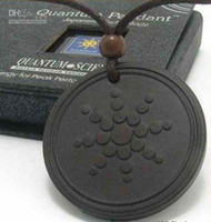 Unisex Gift ion free shipping scalar energy pendant quantum science pendant with box and card