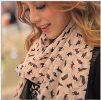 Knit Long Skulls Marilyn Monroe Vintage Style All-match Ladies Scarf Chiffon Scarf Shawl mix color 5pcs lot