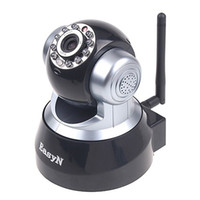 Wholesale EasyN Wireless IR WiFi IP Camera Alarm Equipment PC iPhone iPad G Mobile