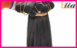 Wholesale 3pcs Brazilian Virgin Remy Hair Weave Weft Silky Soft Straight Full Thick Cheap