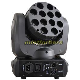 Rgbw conduit faisceau mobile de la tête à vendre-Lumière de LED de déplacement de lumière Lumière de lavage de faisceau 12 * 10w RGBW 4in1 couleur quad Cree Leds