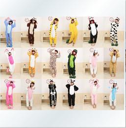 Promotion ! ! ! New Adult Kigurumi Pajamas Animal Pyjamas Cosplay Costume Coral Fleece Animal Sleepwear styles free shipping