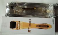 MT Titainium micro needle derma roller black head for skin c...