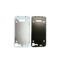 Wholesale Back Glass Assembly Housing Bezel Frame Replacement Parts For iPhone S Black White OEM