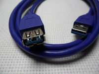 Wholesale 1 M FT USB Type A Male to Female Plug Super Speed Extension Cable Adapter