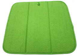 Wholesale High Quality cmx46cm Dish Drying Mat For Kitchen Microfiber Cushion Pad XL Green
