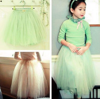 2013 Girl' Simplicity Skirts Lace Children Skirts veil TuTu ...