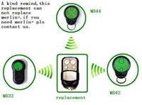 Wholesale Merlin Green Button M842 M832 M844 t r compatible garage door remote control opener