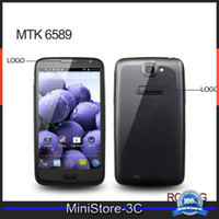 Wholesale MTK6589 Andriod Quad core GHz quot x720p GB RAM S4 I9500 MP Unlocked Smart Cell Phone