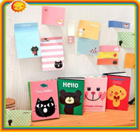 Wholesale Lovely Sticker Cartoon Sticker Post It Bookmark Point It Marker Memo Flags Sticky Notes