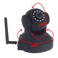 Wholesale FOSCAM Wireless IP Camera IR Cam Pan Tilt Dual Webcam FI8918W