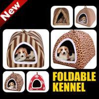 Wholesale ONSALE Foldable Mongolia Dog Nest dog bed pet house dog house dog bed pet bed S M L XL Freeship