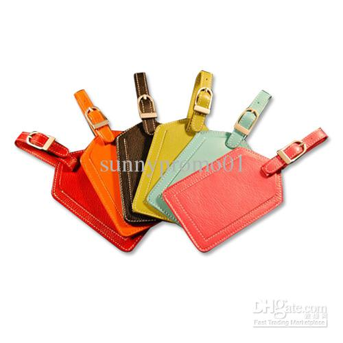 2017 Colourful Leather Luggage Tag From Sunnypromo01, $1.44 ...