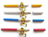 Medium fishing rod kits - Mini Pocket pen fishing rod Golden reel fishing rod kits set H0231