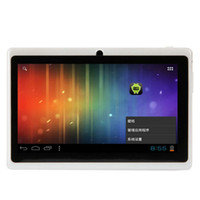 Wholesale 7 quot A13 Android RAM MB Point Capacitive Screen Tablet PC White