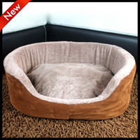 Wholesale Classic thicken sponge basin type kennel pet house dog house dog bed pet bed S M