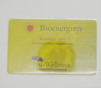 Wholesale Bio energizer Card Scalar Energy Card ion card