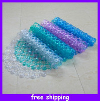Wholesale New Arrival Pvc Bath Mat Shower Mat Slip resistant Pad Mats Sucker Carpet