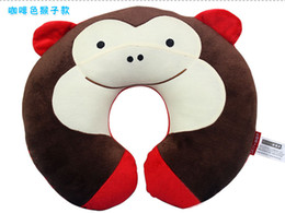 Wholesale Cute Children neck support pillow kids neck Guard rug infant pillows