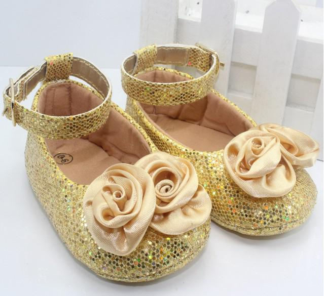Wholesale Cute Baby Girls Crib Shoes Walking Infant Toddler Shoes