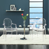 Wholesale 9PCS Modern originality stools Ghost chair Armchair Dining bar Chair Office Metting Chair