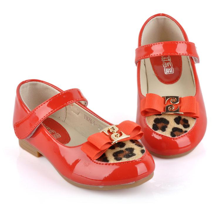 Children Dress Shoes Kids Casual Girls Genuine