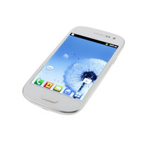 Wholesale Hot quot SC6820 Single SIM Android Dual Core cell phone mAh battery
