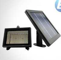 Wholesale NEW LED leds V W High brightness Solar Floodlight wall lights Street light Spotlights