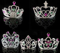 Wholesale party crown princess queen crown Halloween Costume plastic silver wedding party gift masquerade decoration