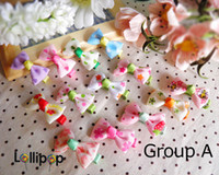 Hair Clips Cloth Christmas 2013 Children hair accessories baby headdress small multi-colored wild side clip bow hairpin,AP8