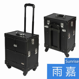Wholesale makeup case professional Professional Cosmetic Salon Makeup Beauty Case Trolley Cosmetic CaseJL3623