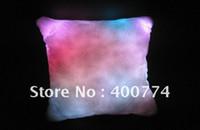 flashing led pillow - LED pillow Colourful Romantic Led RGB Cushion led flashing pillow home doceration plush pillow