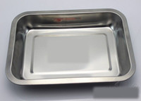 Wholesale Multi Function Tray Barbecue Plate Trays x36CM Stainless Steel Kitchen Picnic Tray