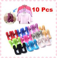 Wholesale 10x Travel Flocking Multifunction Clothes Pile Coating Hanging Magic Mini Hooks
