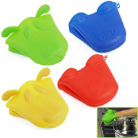 Wholesale 200 Silicone Heat Proof Resistant Insulation Pan Holder Kitchen Glove Oven Grab Mitt