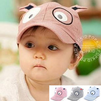 Wholesale New Children Cute Leisure Cap Baby Hat Sub Cartoon Dog Shape Baseball Cap
