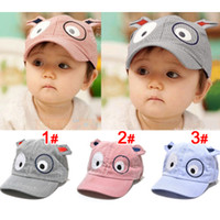 baseball hot dogs - New Hot Pieces Dog Style Child Baby Sunbonnet Baseball Cap Mesh Cap