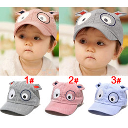 Wholesale New Hot Pieces Dog Style Child Baby Sunbonnet Baseball Cap Mesh Cap